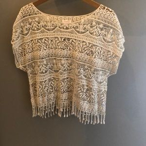 Crochet top/ cover up
